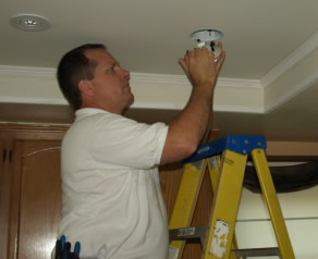 newbury park electrician recessed lighting installation